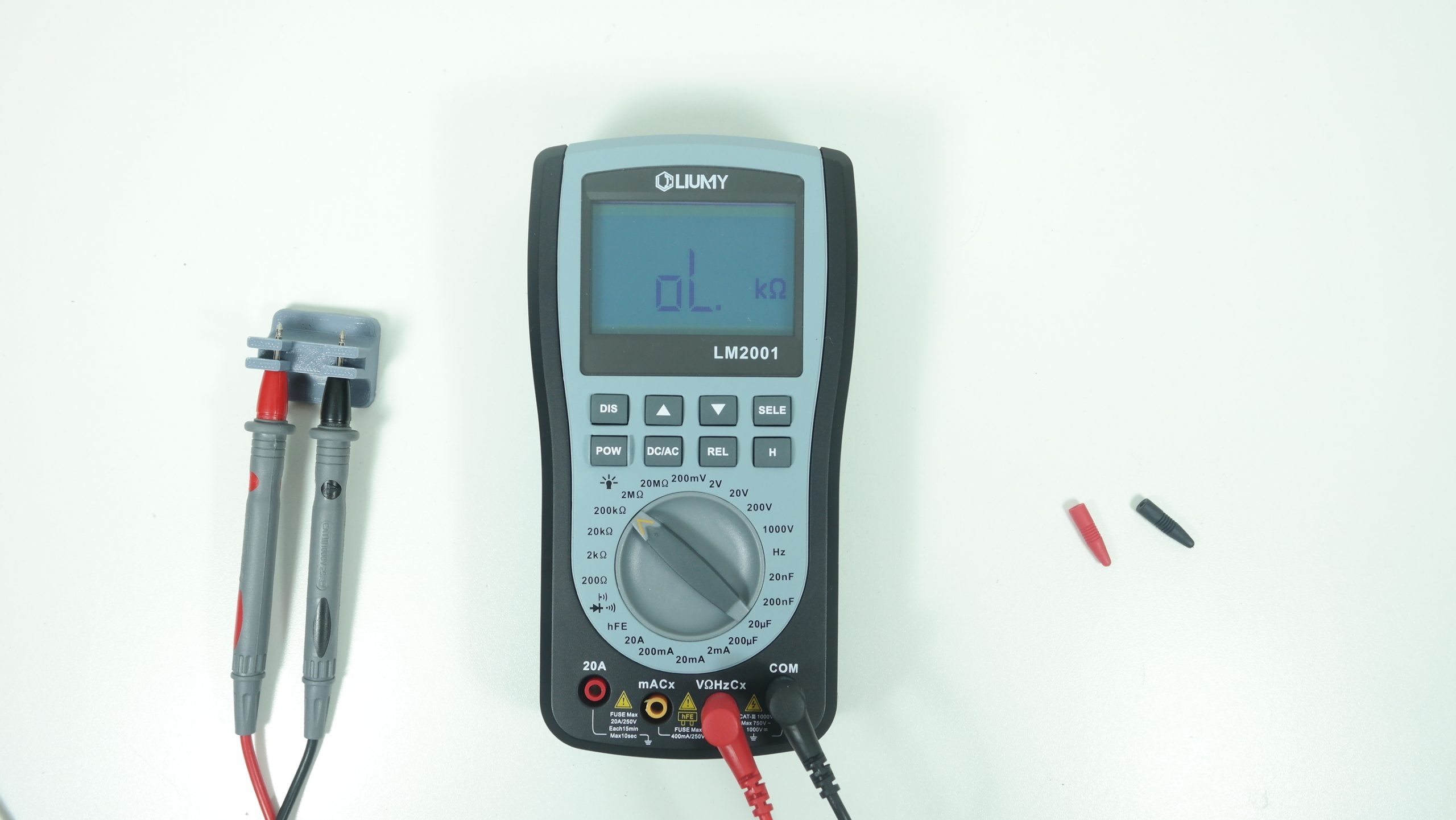 Multi-meter Component Measurement Jig
